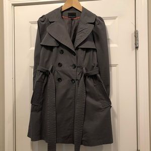 Cynthia Rowley Gray Trench Coat